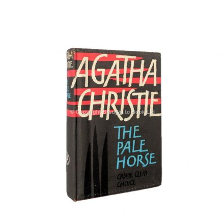 The Pale Horse by Agatha Christie First Edition The Crime Club by Collins 1961